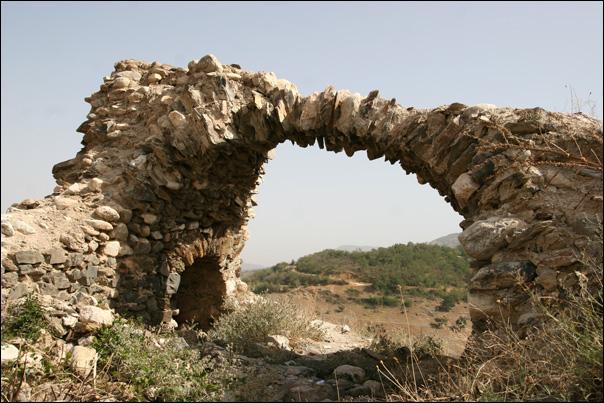 Ruine sur les hauteurs de Prizren