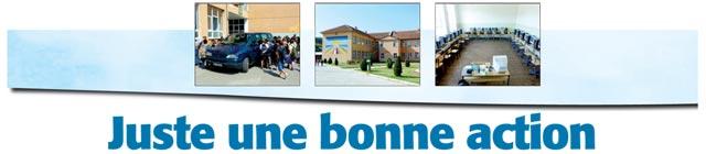 Article projet humanitaire Kosovo Ami Hebdo journal presse