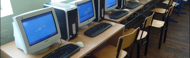 photo classe informatique kosovo ordinateur pentium ecole primaire